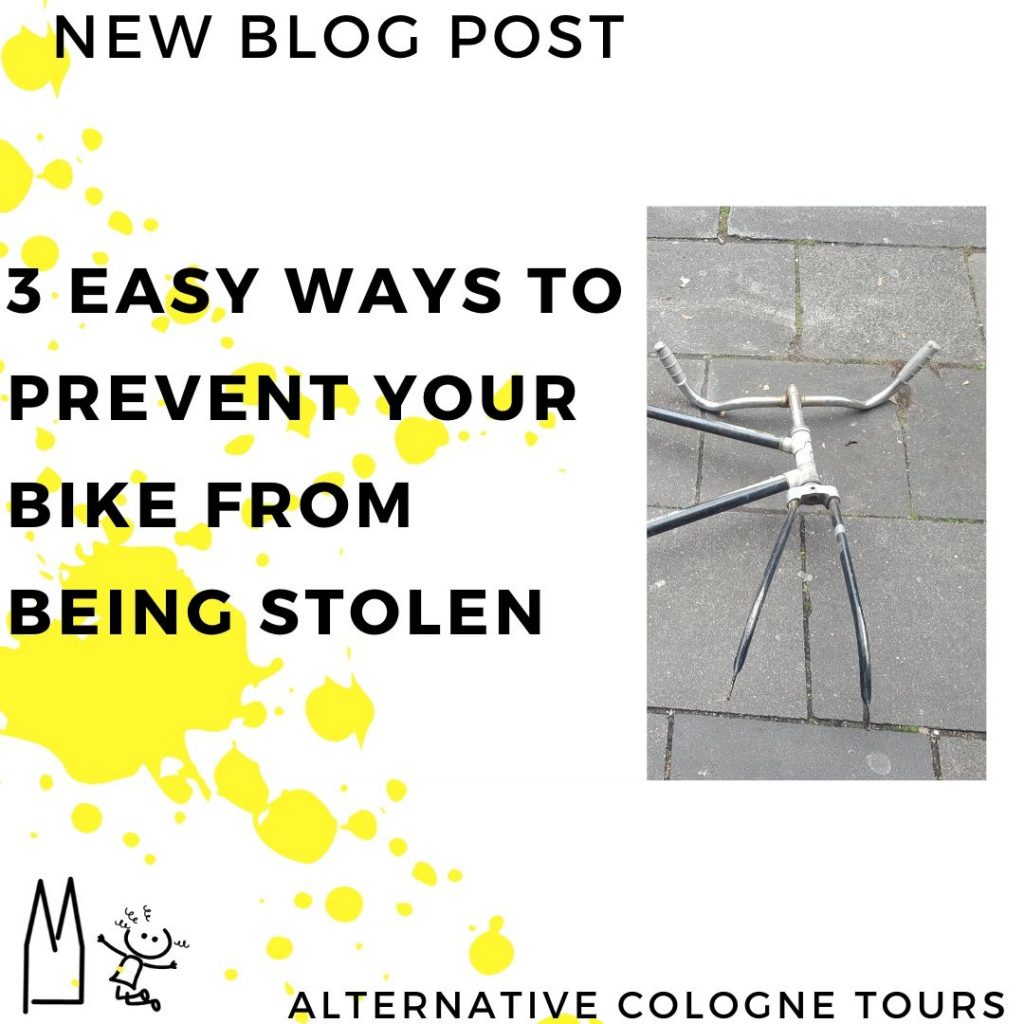 3 ways to prevent your bike from being stolen