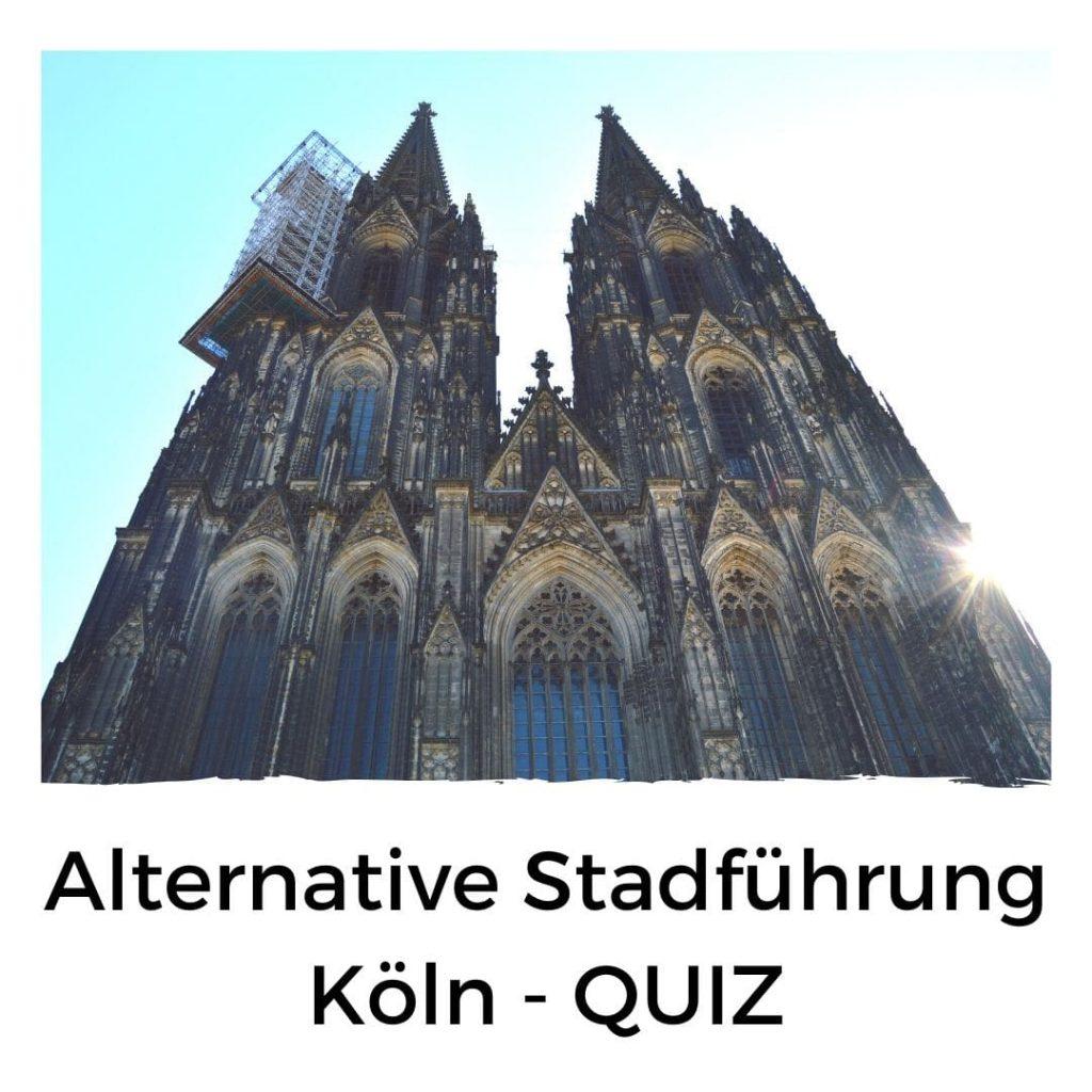 Alternative Stadtführung Köln Schnitzeljagd Quiz-min