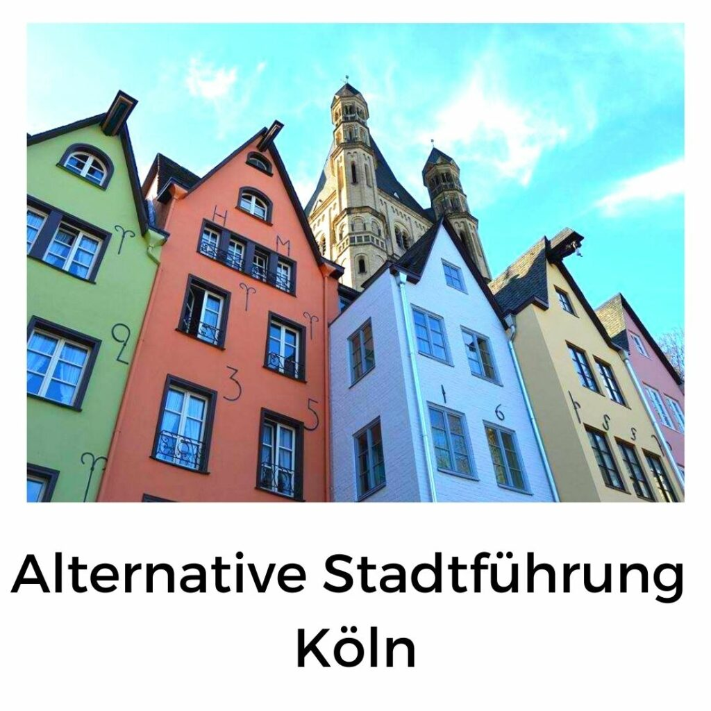 Alternative Stadtführung durch Köln