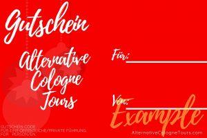 Alternatives Weihnachtsgeschenk Köln Gutschein