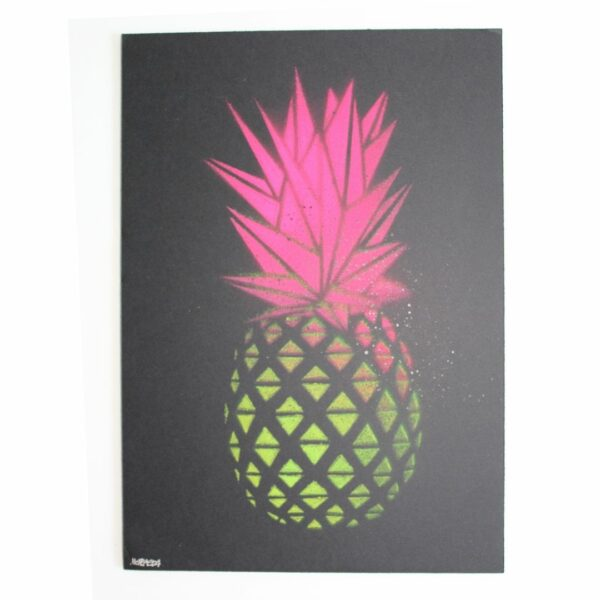 Ananas Kunst Metraeda