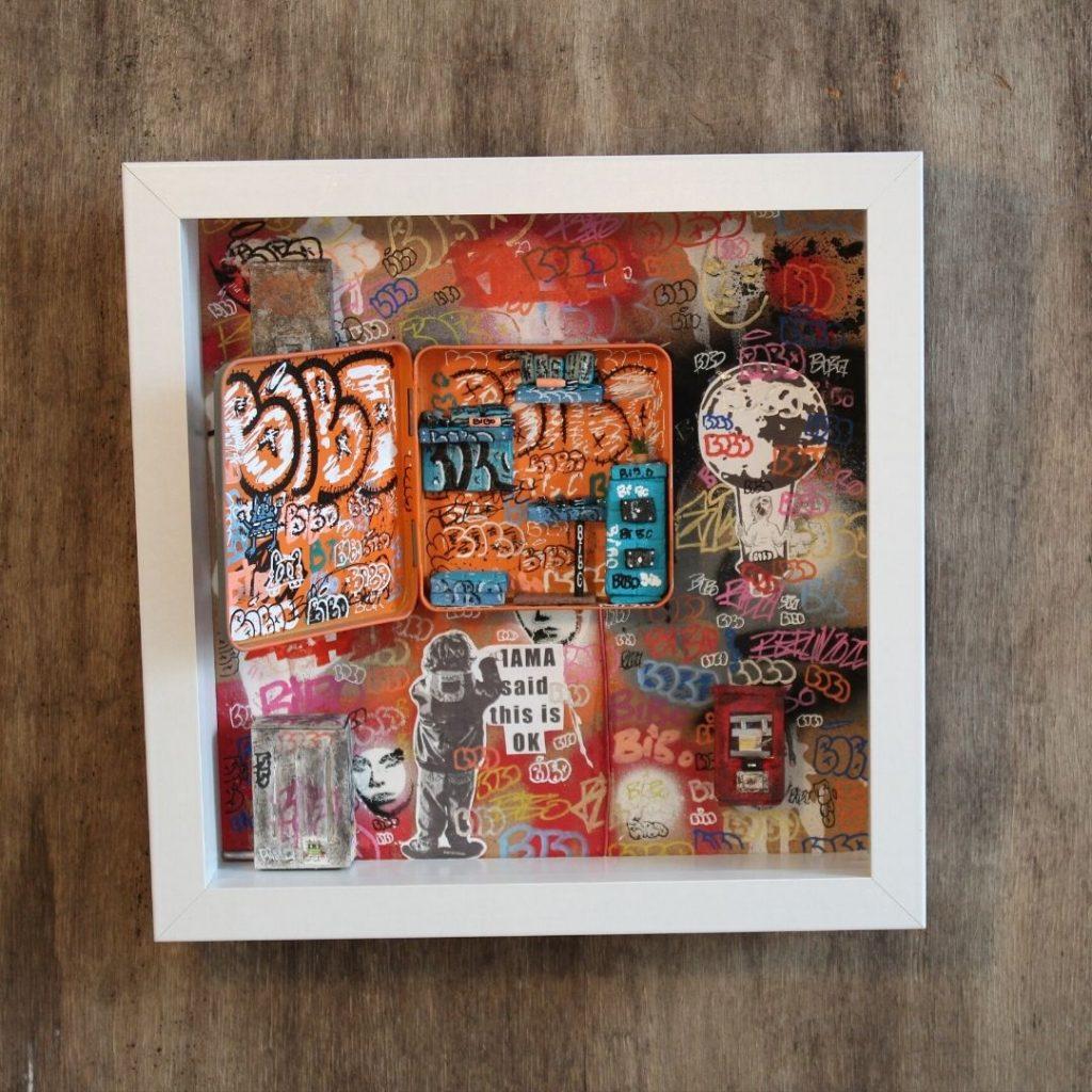 Bibo Open Door Straßenkunst kaufen Köln