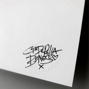 Cinderella Bones Cologne Street Art Signature