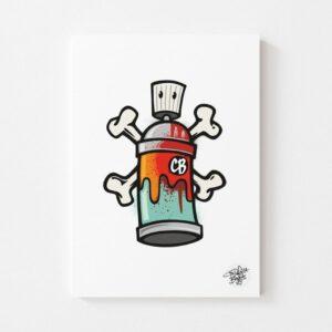 Spraycan By Cinderella Bones