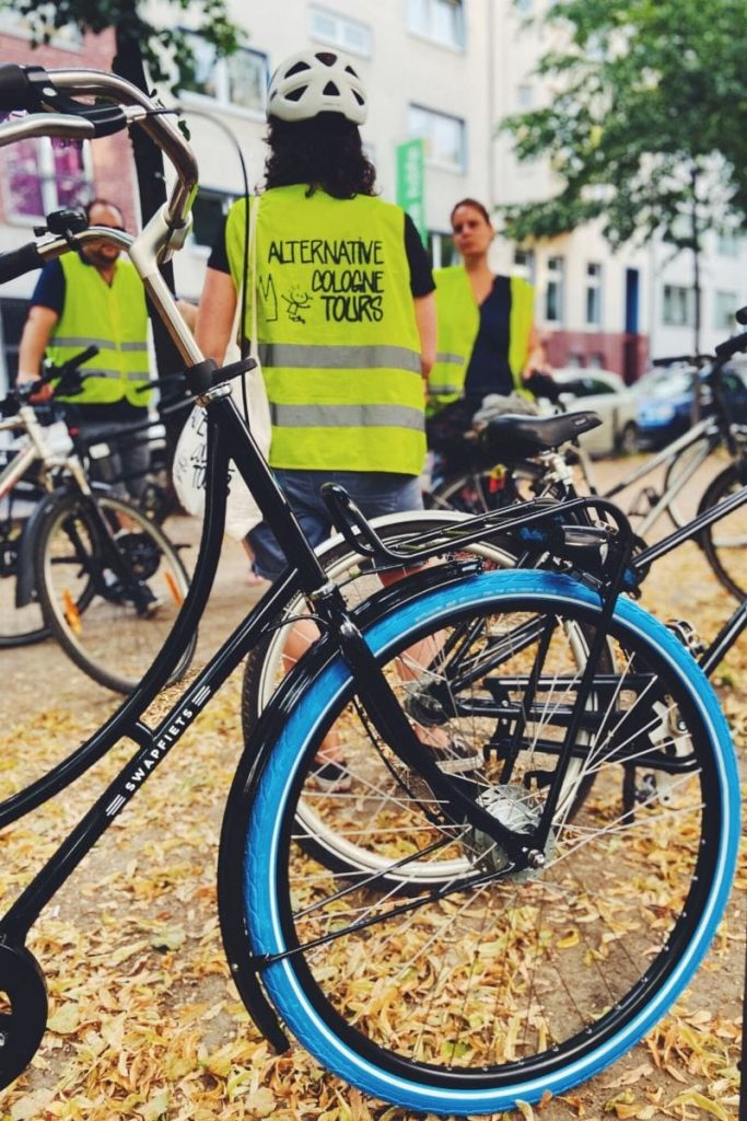 Fahrrad Stadtführung durch Köln mit Swapfiets