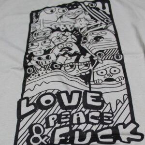 Grey Shirt Busta 170 Street Art