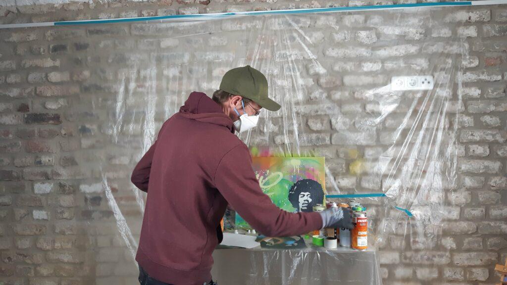 Hero Graffiti Workshop