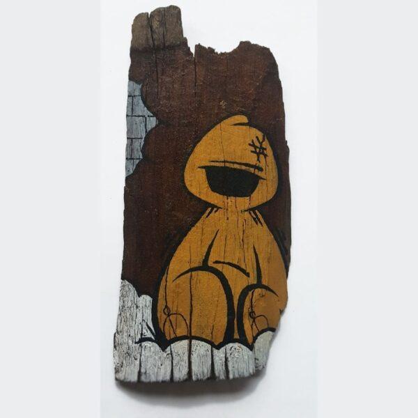 Woody Hoody Street Art Big