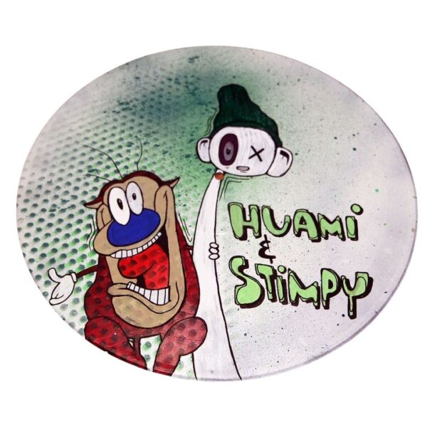 Huami and Stimpy by Huami