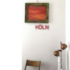 KÖLN (Rot) By Mutabel
