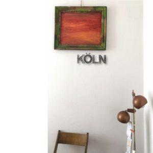 KÖLN (schwarz) By Mutabel