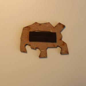 Magnet Schildkröte Metraeda Rückseite