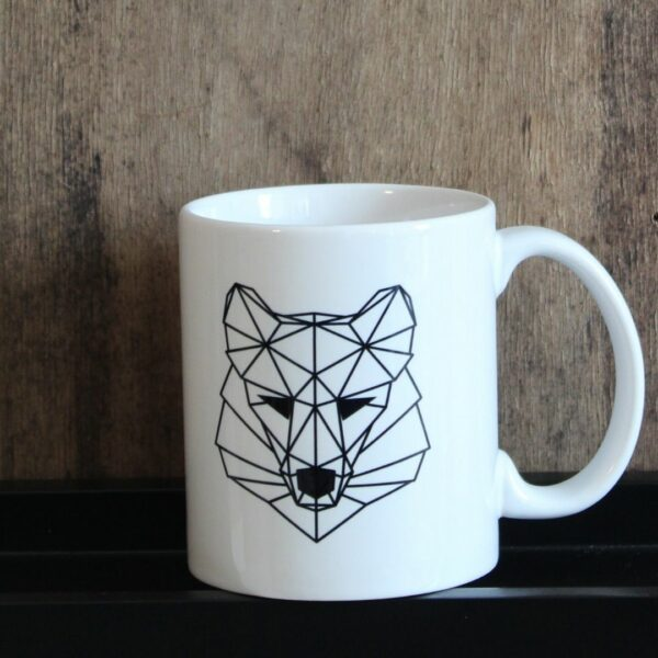 Metraeda Street Art Cologne Shop Wolf Cup