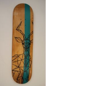 Antilope Skateboard By Metraeda