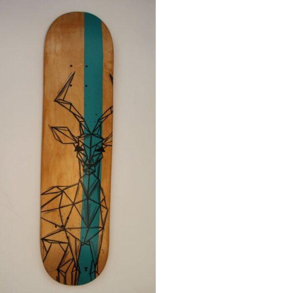 Kunst auf Skateboard Köln
