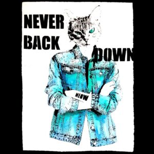 Never Back Down (Blau) By MEOW
