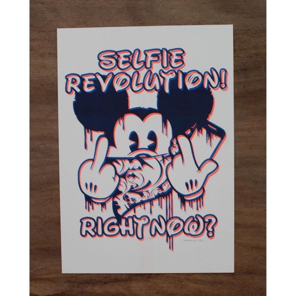 Planet Selfie Disney Revolution