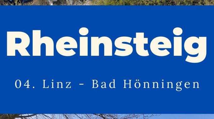 Rheinsteig 04 Linz Bad Hönnigen, Etappe 04