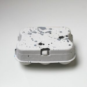 Saateier (2 Bunte Boxen –  Grau/ Marmor/ Schwarz)