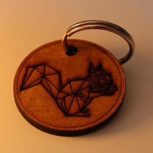 Eichhörnchen Schlüsselanhänger By Metraeda