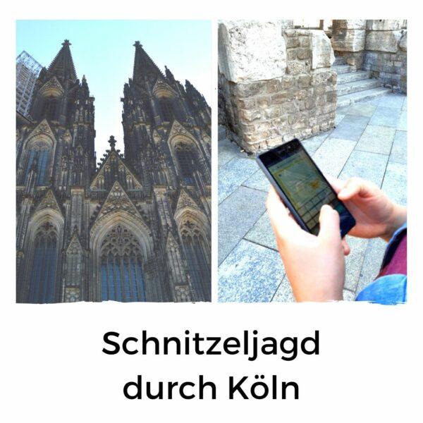 Köln Schnitzeljagd