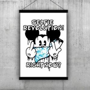Selfie Revolution (Blue) By Cuts And Pieces And Planet Selfie