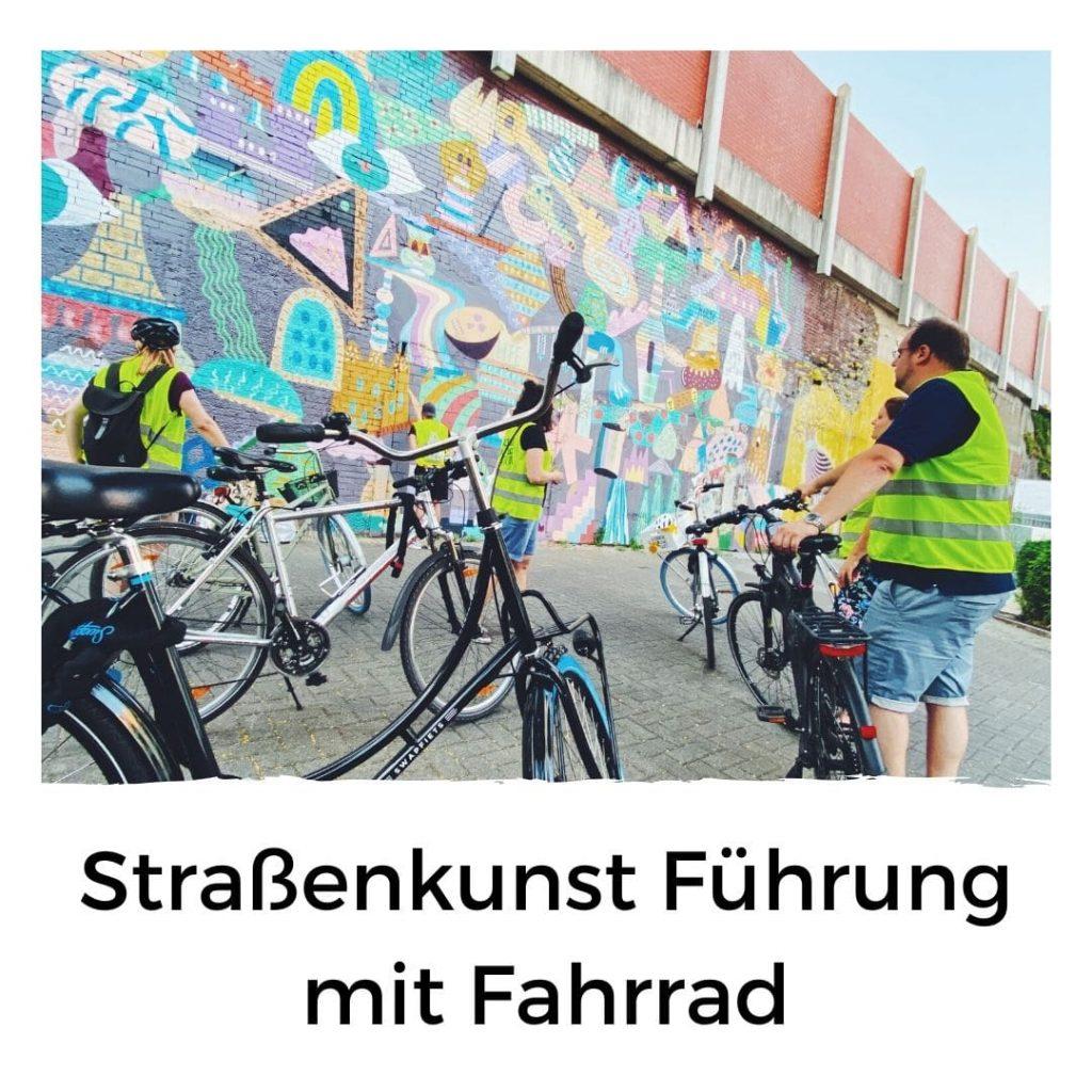 Führung mit Fahrrad durch Köln