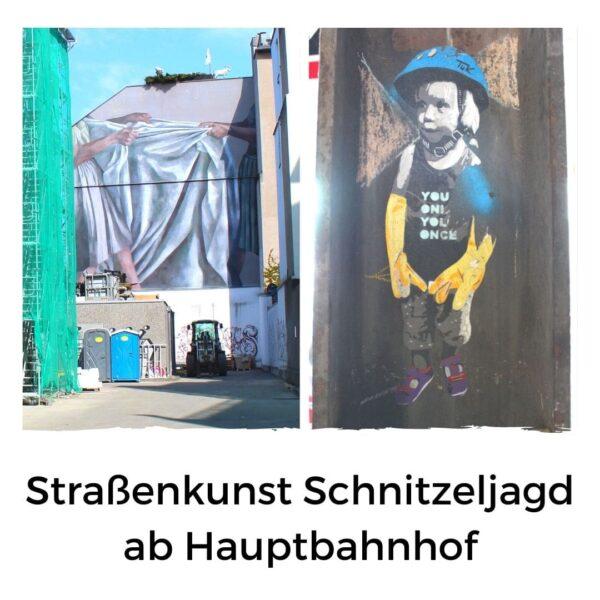 Straßenkunst Corona Konforme Tour Köln
