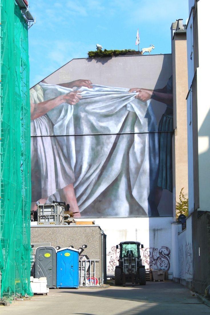 Straßenkunst Schnitzeljagd Hyuro Köln