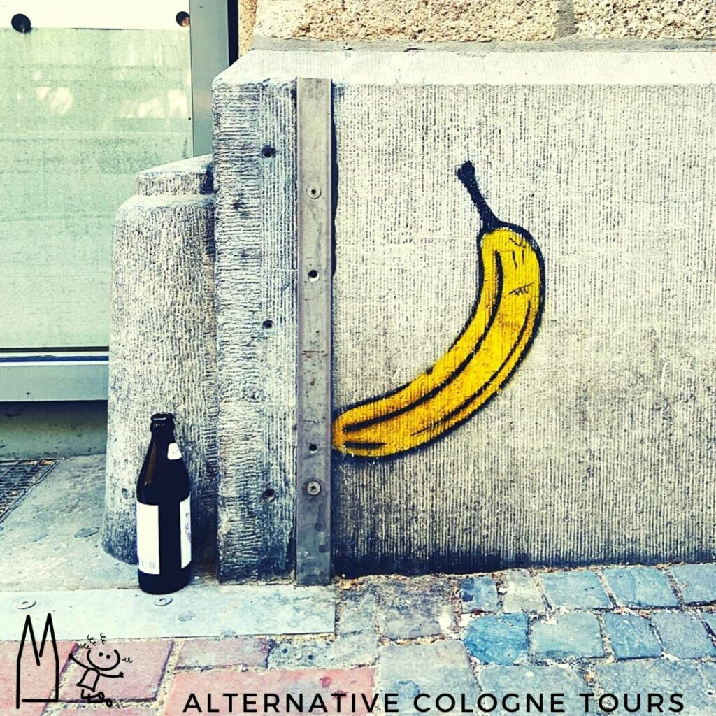 Street Art Bananensprayer