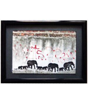 Elefantenfamilie By Huami