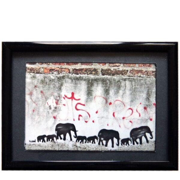 Street Art Elefanten HUAMI