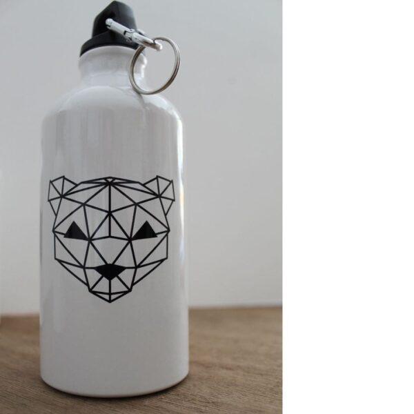 Street Art Trinkflasche Bär METRAEDA