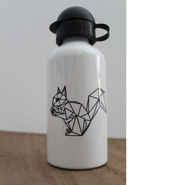 Street Art Trinkflasche Eichhörnchen METRAEDA
