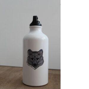 Wolf Trinkflasche By Metraeda