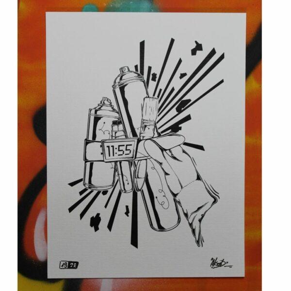 AXIT Print Strassenkunst Kontrast