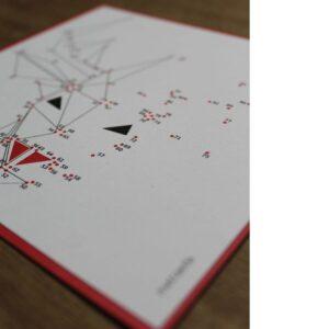 Weihnachtskarte Metraeda