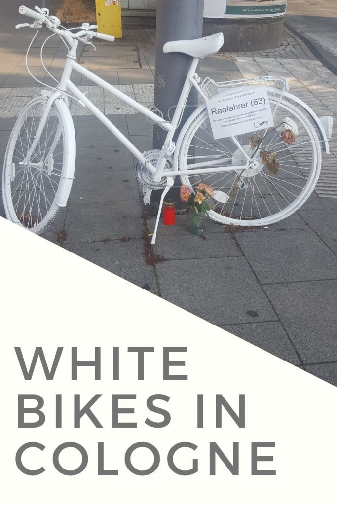 White Bike in Cologne