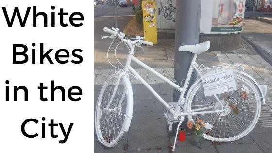 White Bikes In The City