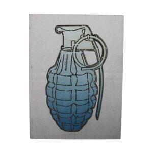 Hand Granade (Blue) By Xxxhibition
